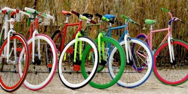 L'arte delle biciclette creative