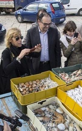 Mola di Bari, pesce appena pescato