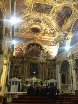 La chiesa di San Cosma e Damiano in tutto il suo splendore