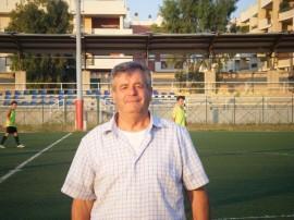 Il Presidente della Norba Calcio, Mario Benedetto