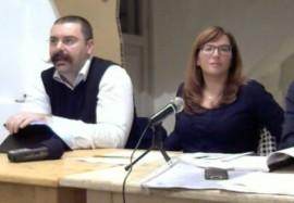 Nico Borrelli e Annalisa Lacalandra, portavoce del Movimento Politico Conversano Città Aperta