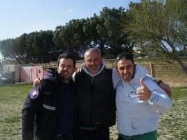 Da sx, Bartolomeo Colagrande, Filippo Sciannamblo, Paolo Lovecchio