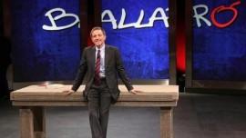 Massimo Giannini, conduttore di Ballarò, trasmissione che va in onda il martedì alle 21,00 su RAI 3
