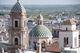 La cupola di San Benedetto