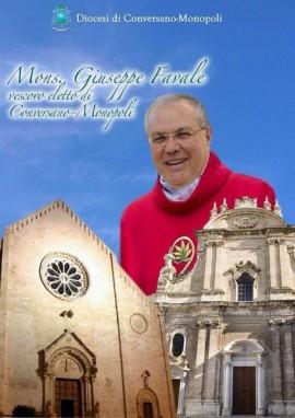Il nuovo Vescovo di Conversano-Monopoli, mons. Giuseppe Favale