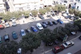 Una veduta aerea di Piazza Carmine