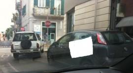 L'angola tra via Bari e via Alessandro Volta, sede degli uffici della