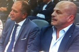 Da sinistra Lovascio, (sindaco di Conversano) e Vitto (sindaco di Polignano a Mare)