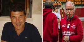 Da sinistra Flavio Bientinesi e Peppino Roscino, candidati entrambi per un posto in Consiglio Federale in liste contrapposte