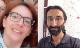 Annalisa Lacalandra ed Enrico Grifoni di Art.1 Mdp Conversano