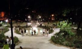 La fontana di Villa Garibaldi