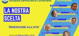 Iniziativa Democratica ha deciso: la coalizione di Pasquale Loiacono si allarga