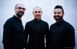 da sinistra Giuseppe Cupertino, Enzo Bellomo e Maurizio Lampugnani