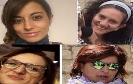 Le quattro consigliere presenti in Consiglio Comunale. Isanna Amatulli (ID), Tiziana Boccuzzi (PSI), Pamela Fanelli (PSI), Chiara Candela (LeU)