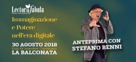 """""""Lector in fabula"""" parte con Stefano Benni sulla balconata di piazza XX Settembre"""
