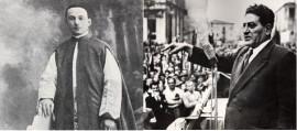 Mons. Luigi Gallo e Giuseppe Di Vittorio