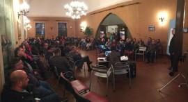 Un momento del primo incontro sulla ristrutturazione di Piazza A. Moro (Piazza Carmine) e via Matteotti