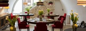 Il ristorante Pashà, un angolo tra i più suggestivi del ristorante