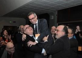 Raffaele Lorusso festeggiato dai suoi sostenitori