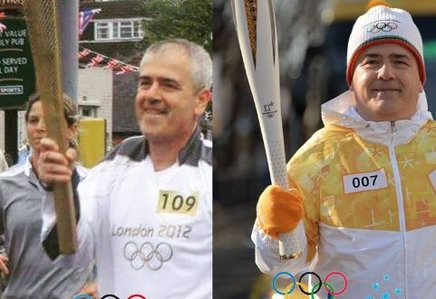 A Conversano arrivano le fiaccole olimpiche