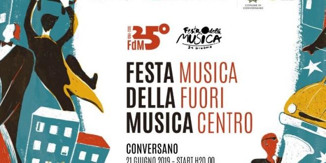 Conversano tra le 700 città d'Italia ad aver aderito alla Festa della Musica del 21 giugno