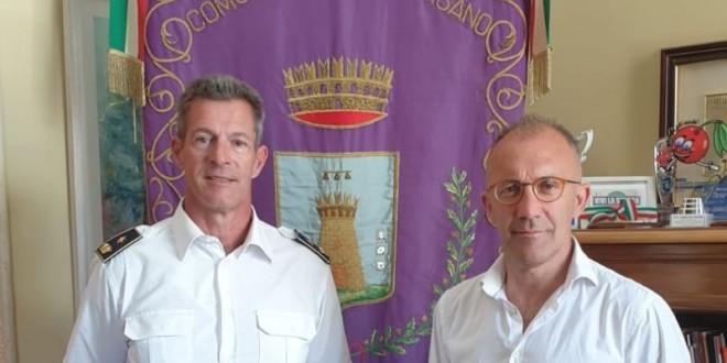 Il maggiore Marco Zatelli è il nuovo comandante della Polizia Locale. Si interesserà anche di igiene urbana