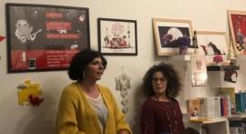 Elena Manzari (a sinistra) e Marica Tricase (a destra) durante l'annuncio ufficiale