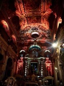 La Chiesa dei Santa Medici di Conversano illuminata da International Sound