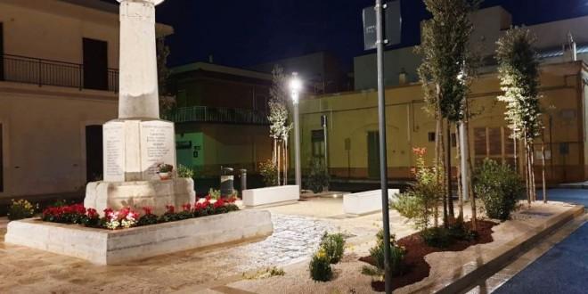 Triggianello, inaugurazione della nuova piazza domenica 15 dicembre