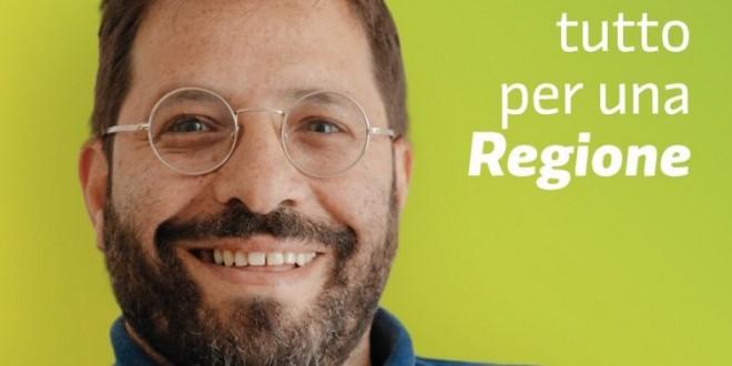"""""""Accade tutto per una Regione"""". Lo slogan di Ciccio Magistà candidato al Consiglio Regionale"""