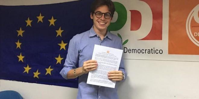 Amedeo Creatore eletto segretario dei Giovani Democratici