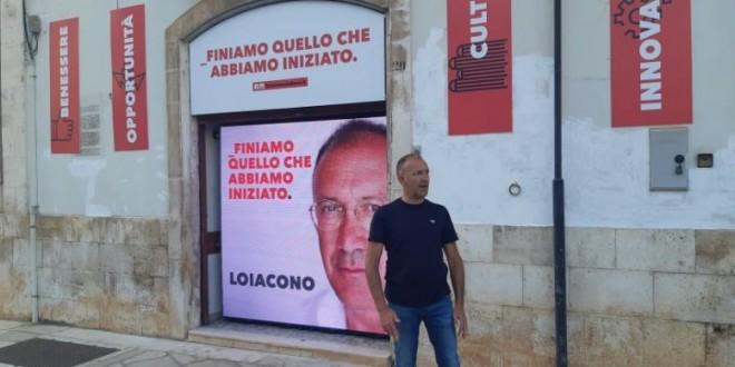 In via Rosselli il quartier generale del candidato sindaco Pasquale Loiacono