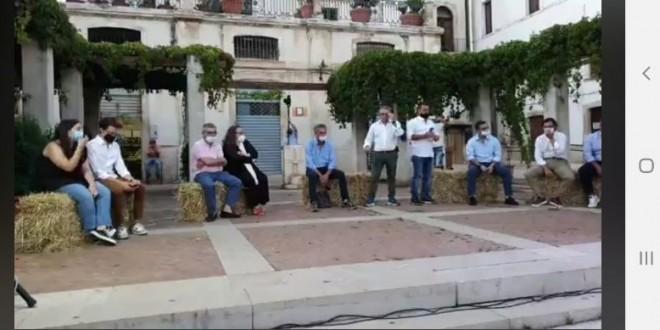 """Presentata la coalizione di Matarrese che si difende: """"Non è vero che la mia candidatura è stata calata dall'alto"""""""