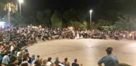 L'Anfiteatro durante i comizi