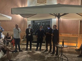Da sinistra: Vitto, Paolicelli, D'Alessandro, Decaro e Loiacono