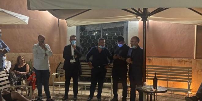 Antonio Decaro a Conversano con Pasquale Loiacono e la lista Conversano Futura
