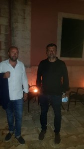 Nella foto Gianvito Vitto con il sindaco di Bari Antonio Decaro