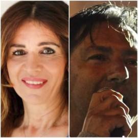 Francesca Lippolis e Lorenzo Abruzzi. La prima rivendica l'assessorato al Welfare, il secondo per lo stesso ruolo propone Berti