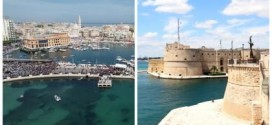 """Bari e Taranto candidate a """"Capitale della Cultura 2022″ stringono l'alleanza"""