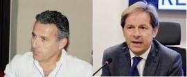 Nicola Laforgia (Primario Neonatologo e UTIN Policlinico di Bari) e Vito Montanaro (Direttore Dipartimento Salute Regione Puglia)