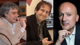 Da sinistra: il dr. Franco Macchia, Gianni Mariella e Angelo Iudice