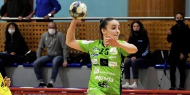 Giada Babbo eletta migliore giocatrice assoluta italiana 2020 di pallamano femminile