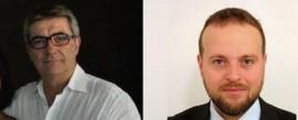Da sinistra: Piero Montefusco (segretario del PD di Conversano) e Alessandro Iacovazzi (segretario del PSI di Conversano)