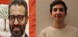 Da sinistra: Francesco Paolicelli (consigliere regionale del PD)  e Gianmarco Lorusso (segretario generale del movimento politico Quark)