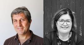 Sebastiano Cascella (consigliere comunale) e Chiara Candela (segretario politico Conversano Bene Comune)