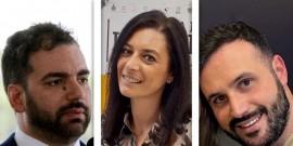 Da sinistra: Alessandro De Robertis, Monica Pellicano, Dario Berti