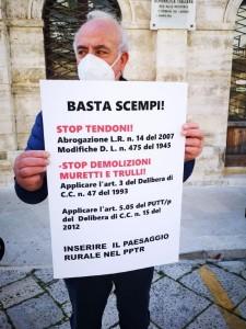 Beppe Cacciapaglia, presidente di Legambiente Conversano