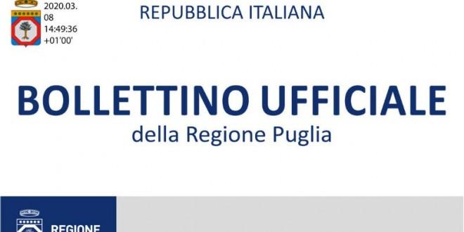 Avviso Pubblico della Regione Puglia rivolto a laureati e diplomati per incarichi nei progetti cofinanziati del Fondo Europeo di Sviluppo Regionale
