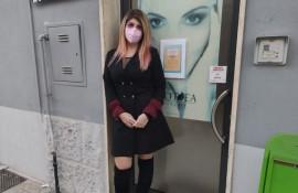 Angelica Satalino, titolare dell'attività Angel Beauty