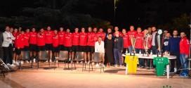 """""""Intitoliamo una strada ai Campioni d'Italia"""", la proposta durante la presentazione della squadra femminile e maschile di Pallamano"""